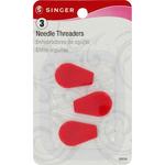 Plastic Needle Threaders, 3/Pkg