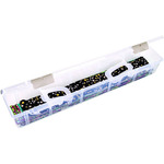 "24""x4""x3.5"" Translucent - ArtBin Fabric Strip Case"