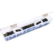 "24""x4""x3.5"" Translucent - ArtBin Fabric Strip Case"
