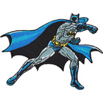 "DC Comics Patch - Batman Punching 3.5""X4.5"""