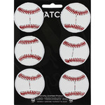 "Baseball 2"" Round 6/Pkg - C&D Visionary Patch"