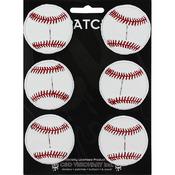 "Baseball 2"" Round 6/Pkg - C&D Visionary Patch"
