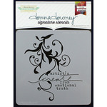 "Donna Downey Signature Stencils 8.5""X8.5""-Create Truth"