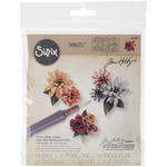 Tiny Tattered Florals - Sizzix Thinlits Dies 15/Pkg By Tim Holtz
