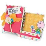 Happy Birthday To You - Sizzix Framelits Dies 4/Pkg W/Stamps