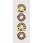 Boxwood Wreaths - Little B Mini Stickers