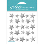 Jolee's Boutique Dimensional Stickers - Silver Star
