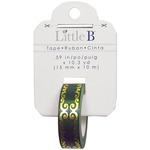 Green/Gold Flourish Foil Tape - Little B