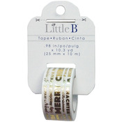 Merry Christmas Word Play - Little B Foil Tape