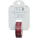 Stitched Snowflake - Little B Decorative Paper Tape