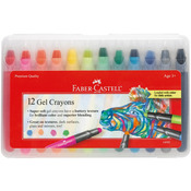 12/Pkg - Gel Crayons
