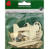 Sewing Notions 8/Pkg - Assorted Wood Shapes