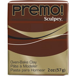 Burnt Umber - Premo Sculpey Polymer Clay 2oz