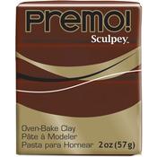 Burnt Umber - Premo Sculpey Polymer Clay 2oz
