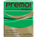 Green - Premo Sculpey Polymer Clay 2oz