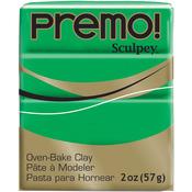 Green - Premo Sculpey Polymer Clay 2oz