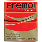 Cadmium Red - Premo Sculpey Polymer Clay 2oz