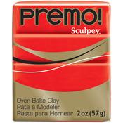 Cadmium Red - Premo Sculpey Polymer Clay 2oz