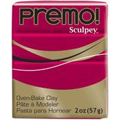 Alizarin Crimson - Premo Sculpey Polymer Clay 2oz
