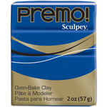 Ultramarine Blue - Premo Sculpey Polymer Clay 2oz