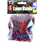 Metallic Assortment - Loom Bands Value Pack 500/Pkg