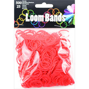 Red - Loom Bands Value Pack 500/Pkg