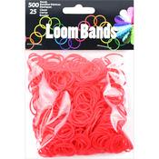 Red - Loom Bands Value Pack 500/Pkg