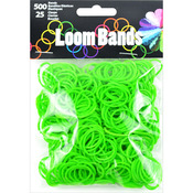 Green - Loom Bands Value Pack 500/Pkg