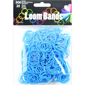 Turquoise - Loom Bands Value Pack 500/Pkg