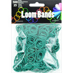 Dark Green - Loom Bands Value Pack 500/Pkg