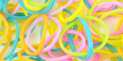 Pastel - Loom Bands Value Pack 500/Pkg