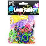 Primary Assortment - Loom Bands Value Pack 500/Pkg