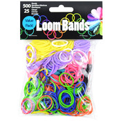 Primary Assortment - Loom Bands Value Pack 500/Pkg