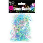 Glitter - Loom Bands Value Pack 500/Pkg
