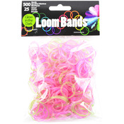 Glow-In-The-Dark Translucent - Loom Bands Value Pack 500/Pkg