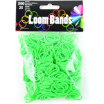 Glow-In-The-Dark Green - Loom Bands Value Pack 500/Pkg