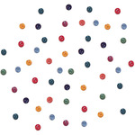 Dress It Up Embellishments - Tiny Round Gemtone Buttons