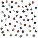 Dress It Up Embellishments - Tiny Autumn Elements Buttons
