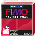 Carmine - Fimo Professional Soft Polymer Clay 2oz