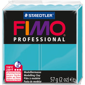 Turquoise - Fimo Professional Soft Polymer Clay 2oz