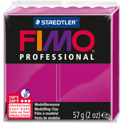 True Magenta - Fimo Professional Soft Polymer Clay 2oz