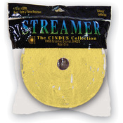 "Canary Yellow - Crepe Streamers 1.75""X500'"