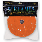 "Bright Orange - Crepe Streamers 1.75""X500'"