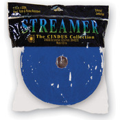 "Royal Blue - Crepe Streamers 1.75""X500'"