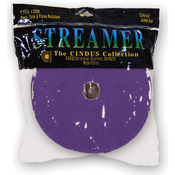 "Purple - Crepe Streamers 1.75""X500'"