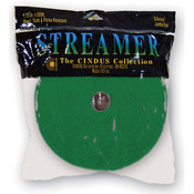 "Emerald Green - Crepe Streamers 1.75""X500'"
