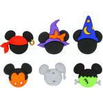 Dress It Up Licensed Embellishments - Disney Mickey & Minnie Halloween Hats