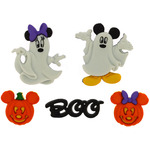 Dress It Up Licensed Embellishments - Disney Mickey & Minnie Ghosts