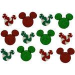 Dress It Up Licensed Embellishments - Disney Holiday Candies