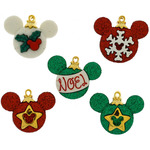 Dress It Up Licensed Embellishments - Disney Mickey Ornaments